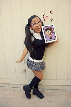 Tootie From the Fairly Oddparents Cartoon Halloween Costumes, Halloween 2019, Cool Costumes, Halloween Party, Fairly Odd Parents Costume, Little Hotties, The Fairly Oddparents, Black Girl Cartoon, Halloween Disfraces