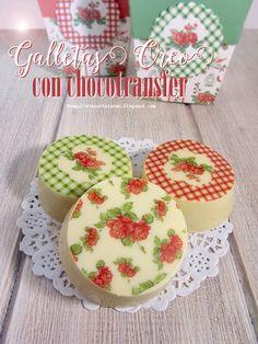 N.M. Galletas Artesanas: Galletas Oreo decoradas con chocotransfer {y descarga gratuita}