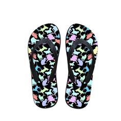 Forudesigns Slippers Women Novelty Printing Chicken Flip Flops Female Anti-slip Comfortable Flats Flipflops Summer Beach Shoes Making Things Convenient For Customers Flip Flops