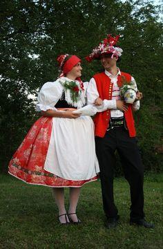 Folklor Brněnska - Fotoalbum - kroj ze Šlapanic - kroj ze Šlapanic - foto Czech Republic, Vintage, Style, Fashion, Photograph Album, Swag, Moda, Stylus, La Mode