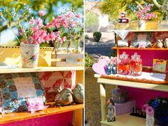 table setting, tablescape, decoração casamento, mesa posta, decoração mini weeding, decor, rosa e azul, pink and blue