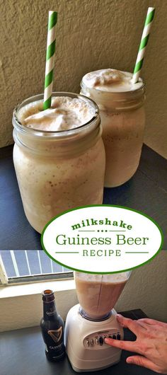 YES! Make the perfect St. Patrick's day treat (that is honestly good all year round) with Guinness beer!  The natural chocolate and coffee flavors in a Guinness Stout pair nicely with vanilla ice cream. Add a whipped Irish cream topping and some whiskey hot fudge and you've got yourself an Irish-inspired dessert. Recipe  here: http://www.ehow.com/how_5088744_make-guinness-beer-milkshake.html?utm_source=pinterest.com&utm_medium=referral&utm_content=inline&utm_campaign=fanpage