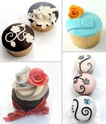 elegant cupcakes for weddings - Google Search