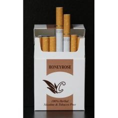 Honeyrose Chocolate Herbal Cigarettes 20s