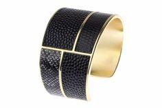 Glamorous #bracelet with a classic gold finish