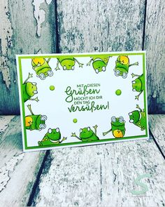 Like 140 times, 2 comments - Yvonnes Stamp Room (Yvonnes Stamp Room) a . Baby Cards, Kids Cards, Cards Diy, Karten Diy, Animal Cards, Baby Scrapbook, Stamping Up, Creative Cards, Homemade Cards