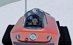 1930s inspired Polar Snow Crawler PSC-001 - diseno-art.com
