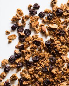 Recipe: Almond Butter Granola — Healthy Snack Recipes