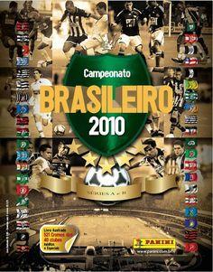 Campeonato Brasileiro 2010. Sticker album.