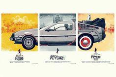 Neste post reunímos algumas artes de cartazes alternativos da franquia De Volta para o Futuro, feito por designers fãs espalhados pelo mundo