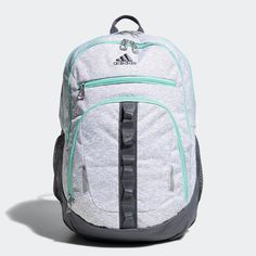 aaaea961e75a Adidas Prime IV Backpack Accessories (Grey Onix Mint Green)