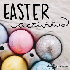 Celebrate Easter With These Fun Family Activities | Intentional Living Easter Activities, Family Activities, Twinkle Lights, Twinkle Twinkle, Egg Crafts, Crafts For Kids, Monthly Themes, Family Traditions, Family Life