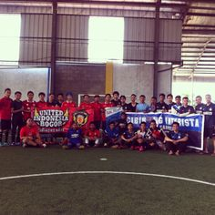 Friendly match versus IndoUnited Cibinong