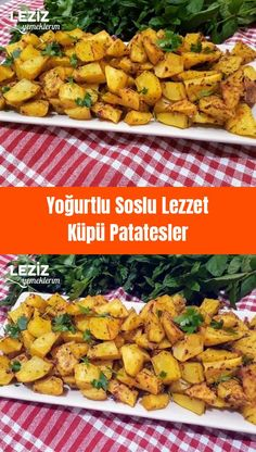 Yoğurtlu Soslu Lezzet Küpü Patatesler – Salata meze kanepe tarifleri – Las recetas más prácticas y fáciles Kfc, Best Salad Recipes, Lunch Recipes, Zucchini Sauce, Perfect Salad Recipe, Turkish Recipes, Ethnic Recipes, Cubed Potatoes, Rice Ingredients