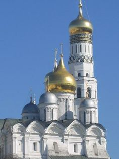 Ivan the Great Bell Tower and the Kremlin Cathedrals