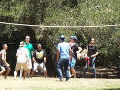 Free activities such as volleyball, horseshoes and bocce ball