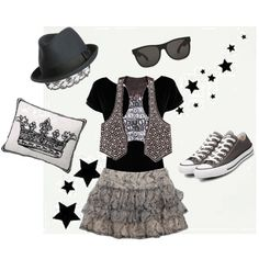 Tween Fashion Funk, created by kerry-spencer.polyvore.com