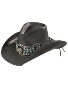 Bullhide Own the Night Straw Cowgirl Hat