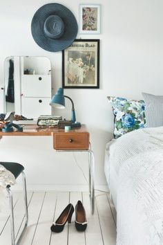 Cool desk as a nightstand