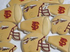 Florida State Seminoles Decorated Sugar Cookies by MartaIngros, $33.00