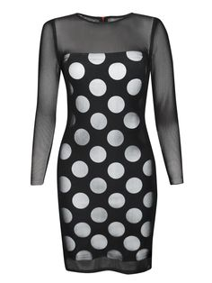 Lulu & Co | House Of Holland Polka Dot Dress