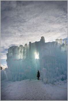 Ice Castles Lincoln, New Hampshire