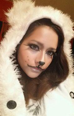 Eisbär Kostüm selber machen | Kostüm Idee zu Weihnachten, Karneval, Halloween & Fasching