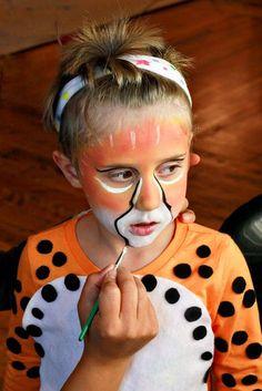 kids cheetah homemade costume - Google Search