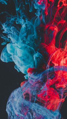 Blue red ink, dipping, close up wallpaper – Red Wallpaper Smoke Wallpaper, Red Wallpaper, Colorful Wallpaper, Mobile Wallpaper, Galaxy Wallpaper Iphone, Phone Screen Wallpaper, Wallpaper Samsung, Rauch Tapete, Rauch Fotografie