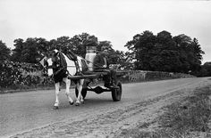 Photo courtesy of The Farmers Journal taking us back down memory lane. My how milk transportation has changed.
