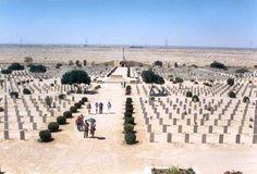 El Alamein  British war grave memorial