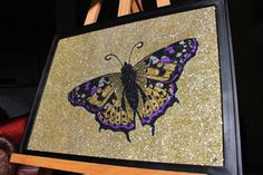Glitter Art, Painting, Painting Art, Paintings, Drawings
