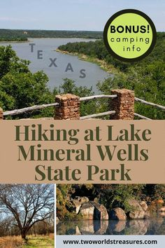 Hiking at Mineral Wells State Park is one of the favorite outdoor things to do near Dallas/Fort Worth area. Trails from easy to challenging are awaiting you at the park. Come solo or with your friends, partner, or family. Mineral Wells State Park, Mineral Wells Texas, Usa Travel Guide, Travel Usa, Travel Tips, Travel Local, Canada Travel, Travel Ideas, Tx State Parks