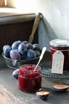 Swiss Recipes, Jam Recipes, Canning Recipes, Chutneys, Jam And Jelly, Meals In A Jar, Rum, Snap Peas, Kuchen