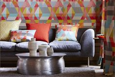 Spirit and Soul Wallpapers  (source Scion) Fabric Wallpaper Australia / The Ivory Tower