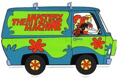 Scooby Do Where Are You Van!  http://gadgets.gunaxin.com/top-20-awesome-fictional-cars/57374