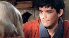 Merlin's face (gif)