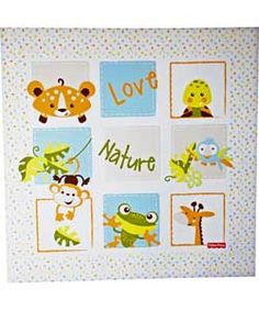 Fisher-Price Animals of the Rainforest Baby Changing Mat.
