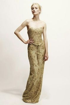 1c8ab906eb Marchesa Resort 2010 Strapless Gold Gown media gallery on Coolspotters. See  photos, videos, and links of Marchesa Resort 2010 Strapless Gold Gown.