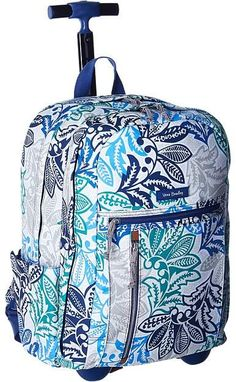 Vera Bradley Rolling Backpack Backpack Bags
