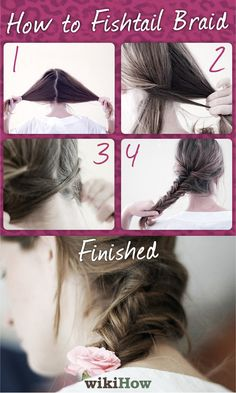 How to Fishtail Braid in 6 Steps