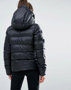 Image 2 of Nike Long Padded Jacket With Hood