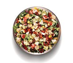 Chopped Spinach Cobb Salad