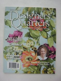 Designers' Quarters, the Magazine for Fabric « Library User Group