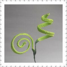 Inglese - Fiori all'Uncinetto - Crochet Flowers Crochet Cactus, Crochet Leaves, Crochet Doilies, Crochet Yarn, Easy Crochet, Crochet Stitches, Freeform Crochet, Crochet Flower Tutorial, Crochet Flower Patterns