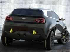 Kia Niro extrior rear view