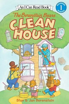 The Berenstain Bears Clean House (I Can Read Book 1 Series) $4.99