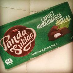 Eikun odottelemaan  #suklaa #panda #pandasuklaa  #iltapala