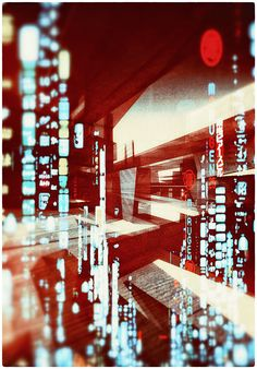Ghost Cities / Remix by Atelier Olschinsky. Atelier Olschinsky is a small creative studio based in Vienna, Austria, founded in 2002 by Peter Olschinsky and Verena Weiss. Wall Street, Street Art, Ghost City, Ghost Images, Graphic Projects, Multiple Exposure, Cities, Photoshop, Foto Art