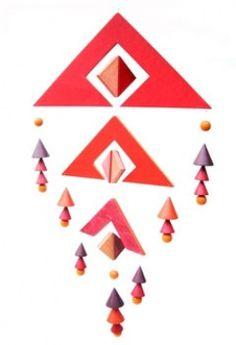画像1: ブライトシュベルツ・モビール トリオ 赤